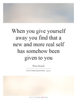 give yourself away